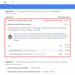 How to Fix Eliminate Render-Blocking Javascript and CSS on a WordPress website